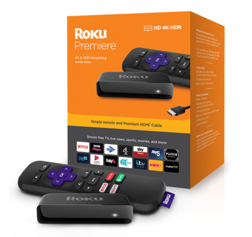 Roku Premiere - Box With Product