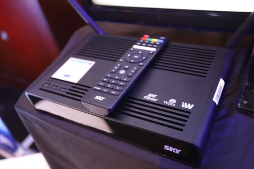 Sky Cable all-in box