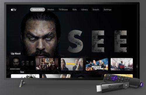 Apple TV+ on Roku