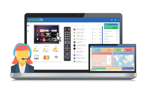 VISO Android TV device management and MDM