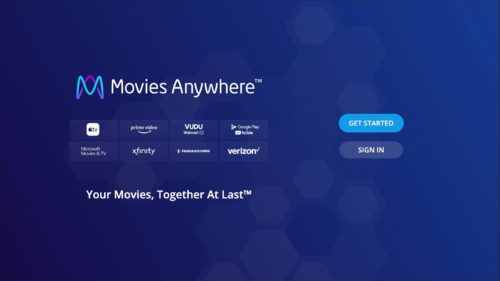 LG Electronics USA-Movies Anywhere screenshot