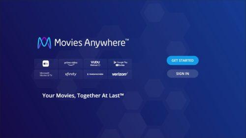 LG Electronics USA-Movies Anywhere screenshot