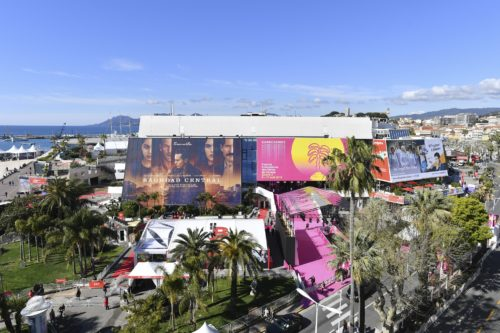 MIPTV 2019 - ATMOSPHERE - OUTSIDE VIEW - PALAIS DES FESTIVALS