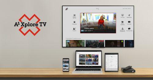 A1 Xplore TV Slovenia