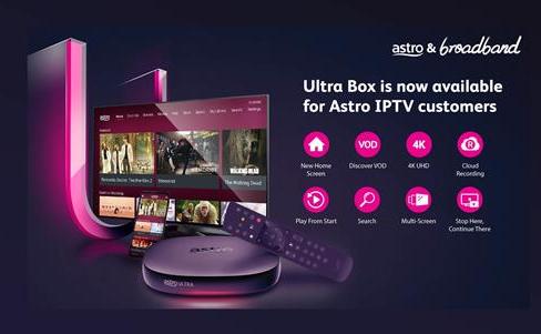 Astro Malaysia IPTV Ultra Box