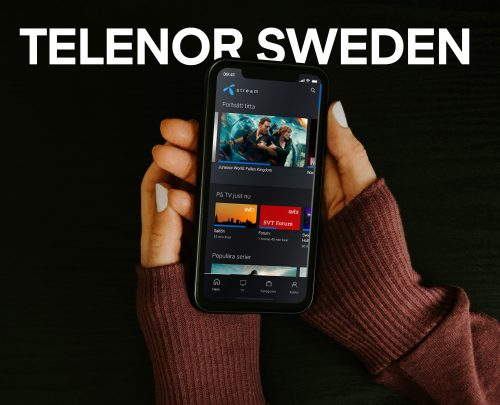 Telenor Sweden mobile UX