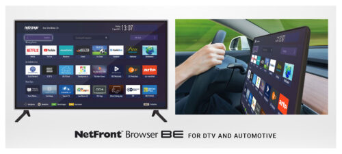 ACCESS Company: NetFront Browser BE for DTV and Automotive