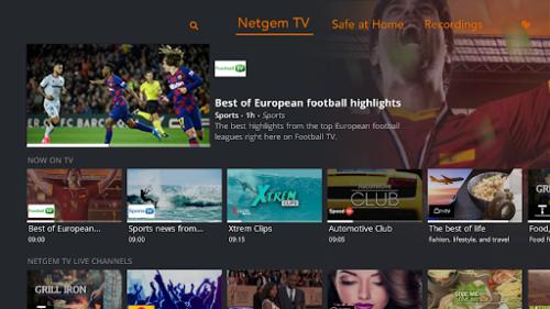 Netgem TV UI