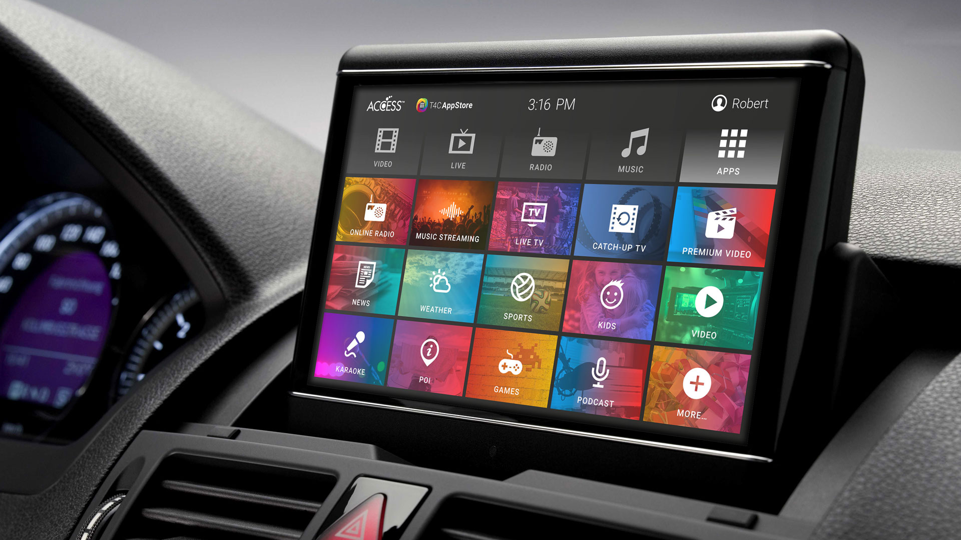 ACCESS Adds NetRange App Store To Its In-vehicle