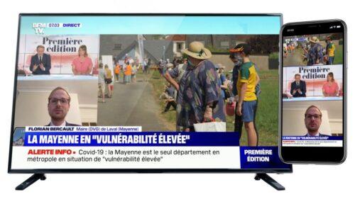 BFMTV Live Vertical Example
