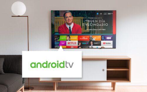 Mirada-izzi Android TV Living Room Screenshot