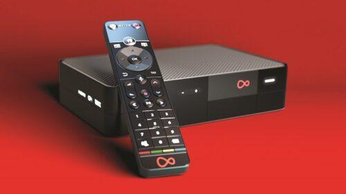 Virgin TV 360 box and remote