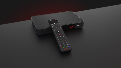Photo: Virgin TV 360 box and remote