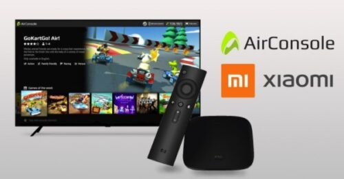 Xiaomi includes AirConsole cloud gaming