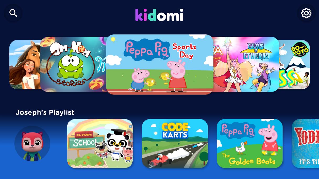 Kidomi screen