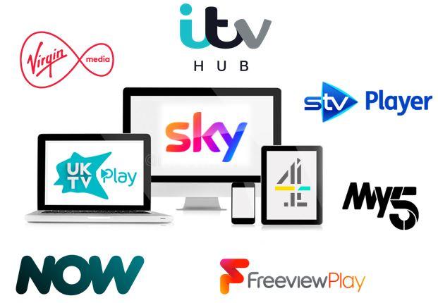 CFlight UK - Virgin Media, ITV Hub, STV Player, My5, Freeview Play, Now TV, UKTV Play, Channel 4, Sky Media