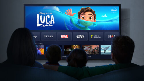 Disney comes to Panasonic TVs banner
