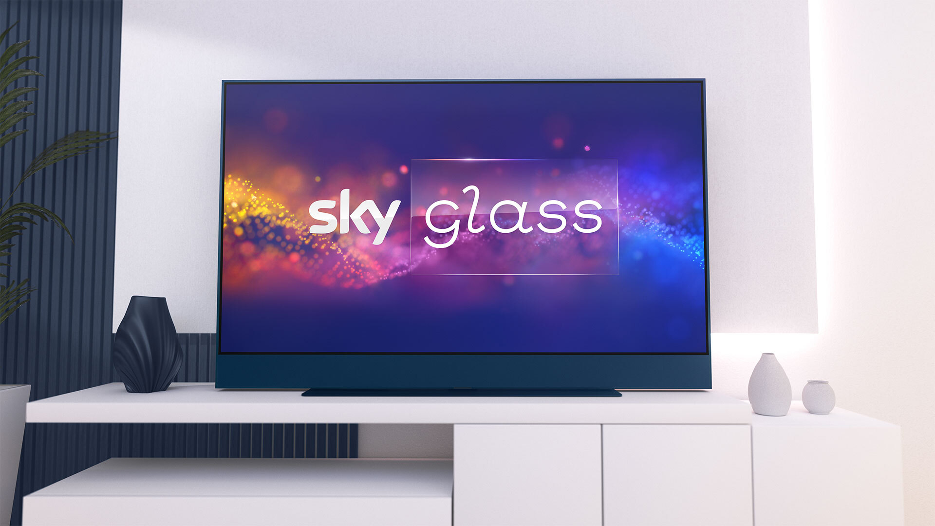 Sky Glass front