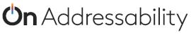 On Addressability logo