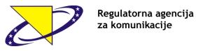 Regulatorna agencija za komunikacije logo