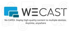 WeCast logo